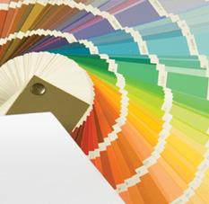 Nuancier de couleurs pour la peinture sur les murs